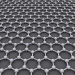 La Estructura Cristalina ideales del grafeno es Una retícula hexagonal. Autor: AlexanderAlUS